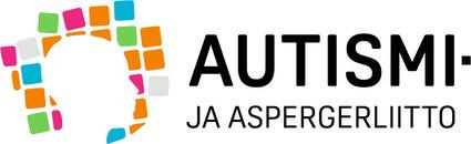 Logo, jossa lukee Autismi- ja aspergerliitto.