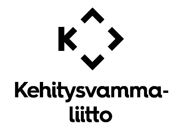 Logo, jossa lukee Kehitysvammaliitto.