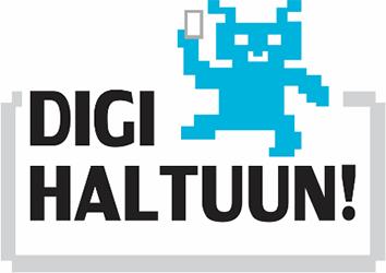 Logo, jossa teksti Digi haltuun!