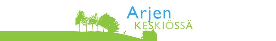 Arjen keskiössä - hanke - logo