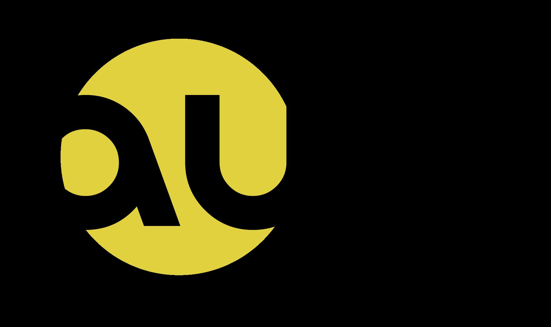 Logo, jossa lukee aula.