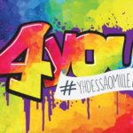 4you logo graffiti