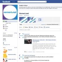 Vernerin Facebook-sivu