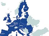 Euroopan unionin kartta