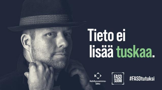 FASDtutuksi -kampanjan grafiikka