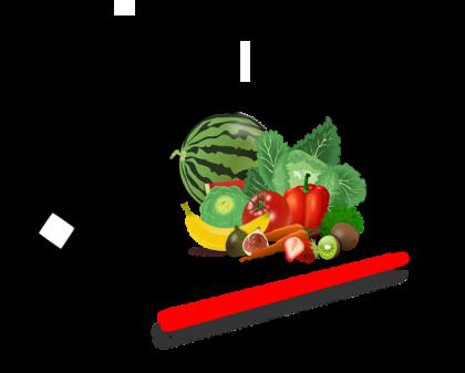 Tässä kuvassa on ruokamittari