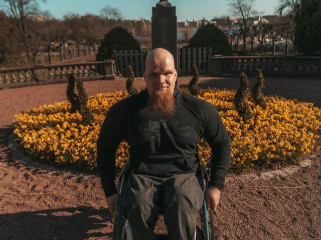 Kuvassa Aleksi Kirjonen