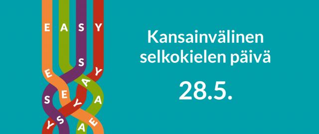 Kansainvälinen selkokielen päivä -logo