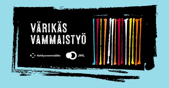 Värikäs Vammaistyö -kampanjan logo